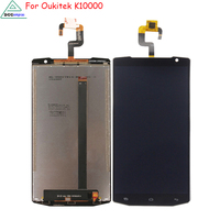 LCD Display For Oukitel K10000 Screen LCD Touch Screen Mobile Phone Parts For Oukitel K10000 LCD
