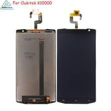 For Oukitel K10000 LCD DisplayTouch Screen Mobile Phone Parts For Oukitel k10000 Display Screen LCD Free Tools