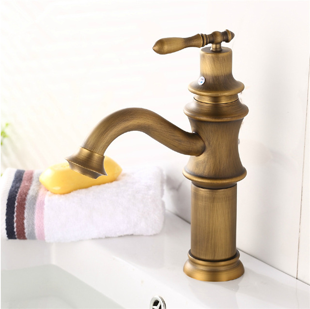 bronze bathroom faucets. Free shipping antique copper faucet brass bronze bathroom hot  and cold water tap