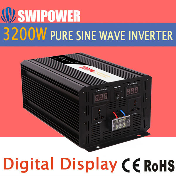 power inverter 3200w pure sine wave