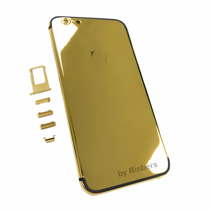 New 24K 24KT 24CT GOLD ROSE GOLD PLATINUM Back Cover Housing Midframe Replacement for font b