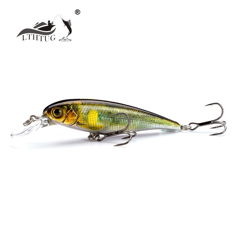 LTHTUG Brand Pesca Hard Fishing Lure 60mm 5g 70mm 8g Suspending Minnow Fishing Wobbler Isca Artificial Baits For Bass Perch Pike