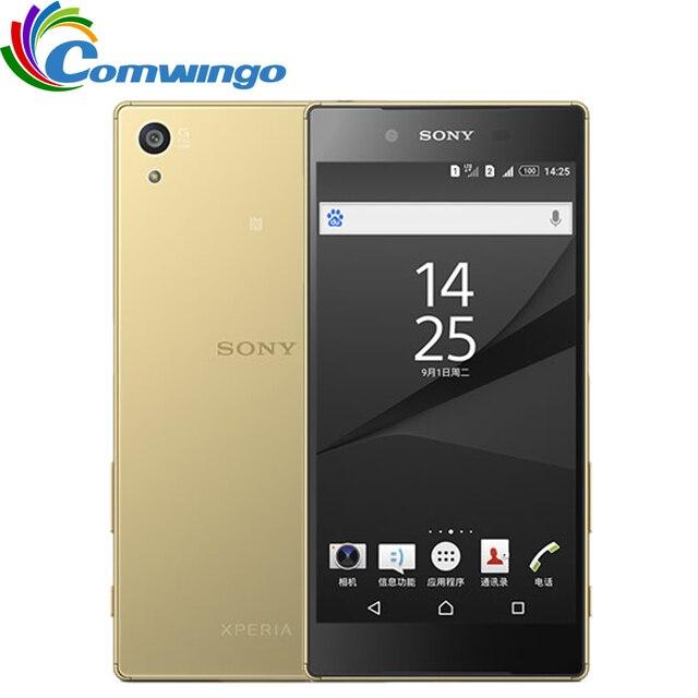 Оригинальный sony Xperia Z5 E6653 разблокирована Оперативная память 3 GB Встроенная память 32 GB GSM WCDMA 4G LTE Android Octa Core 5,2 дюйма 23.0MP Камера