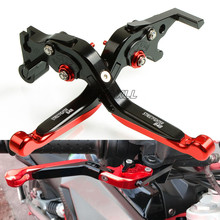 FREAXLL CNC Aluminum Motorbike Motorcycle Brake Clutch Levers Foldable Extendable For Ducati STREETFIGHTER 848 2012-2015