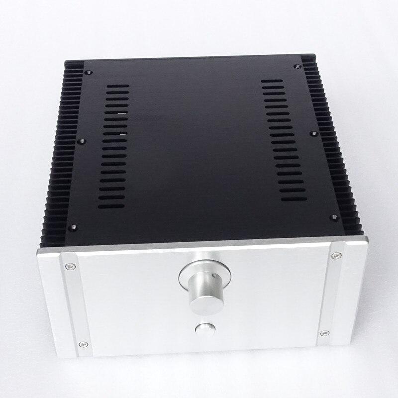 2412C Full Aluminum Enclosure / mini AMP case/power amplifier box/ chassis DIY amp цена