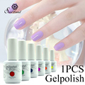 Saviland 1pcs 15ml Nail Gelpolish 58 Colorful UV Nails Lacquer Permanent Varnish Esmaltes Permanentes De Uv Gel Polish