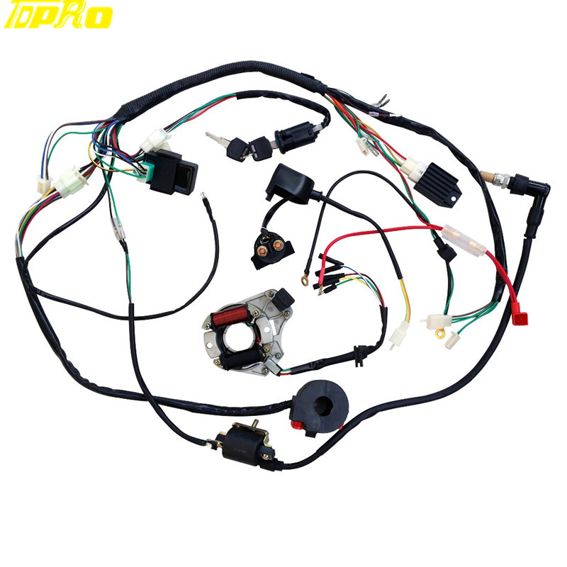 Complete Electrics Coil Cdi Magneto Stator Wiring Harness Atv Klx