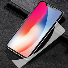 9H HD Tempered Glass For iPhone X XS MAX XR Tough Protection Screen Protector Guard Film For iPhone  4 4S 5C 5S SE 6 6S 7 8 PLUS protective screen protector guard for iphone 4 4s blue