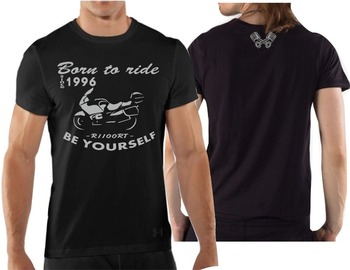 Maglia por motocicleta R1100Rt camiseta Maglietta R 1100 Rt Biker R1100 Rt2018 verano para hombres camisetas ajustadas de alta calidad