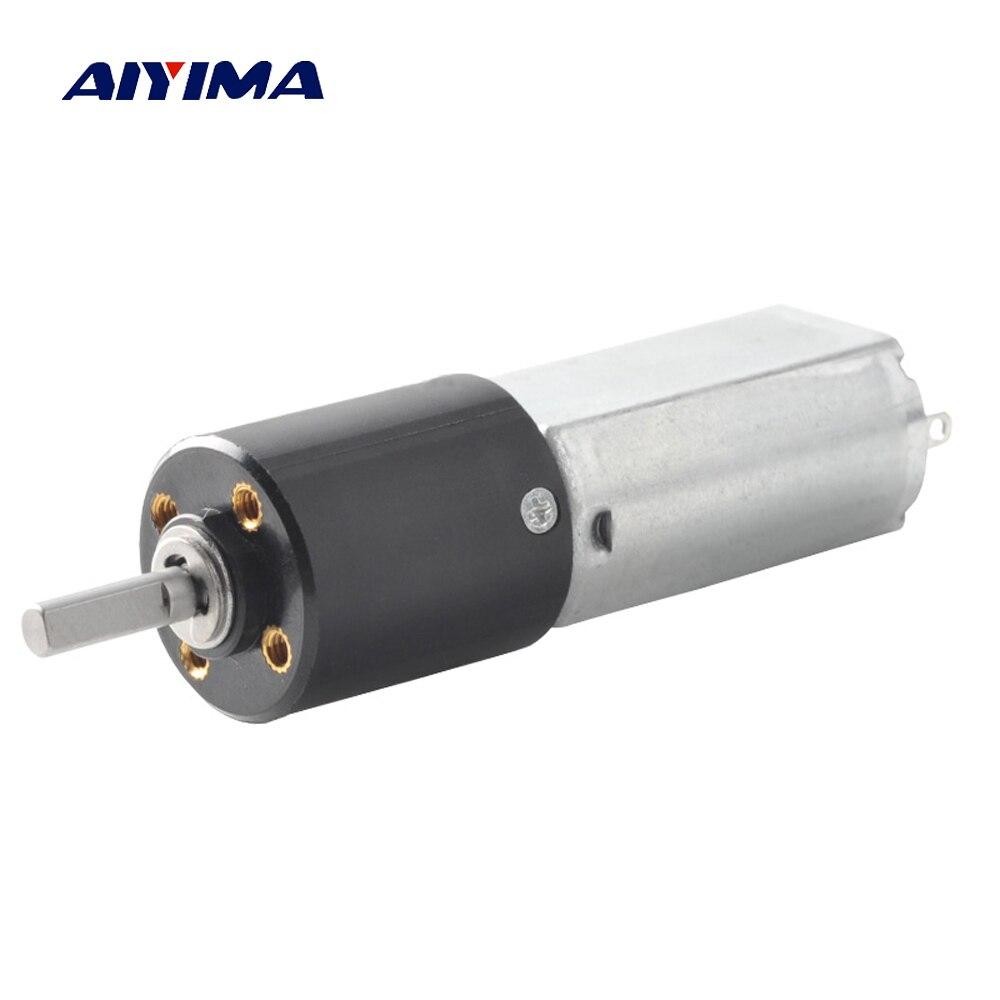 цена на Aiyima 1Pc 3V Mini Precision Reduction DC Motor High Speed Model 12MM Planetary Gear For Diy Turns Intelligent Electronic Motors
