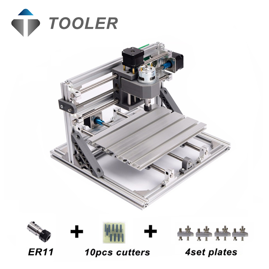 CNC 2418 with ER11,diy mini cnc laser engraving machine,Pcb Milling Machine,Wood Carving machine,cnc router,cnc2418,toys mini cnc router machine 2030 cnc milling machine with 4axis for pcb wood parallel port