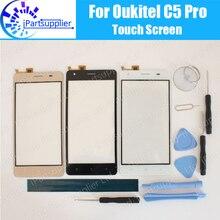 Лучшие Oukitel C5 Pro Сенсорный экран Панель 100% гарантия новый оригинальный Стекло Панель Сенсорный экран Стекло Замена для Oukitel C5 Pro + инструмент