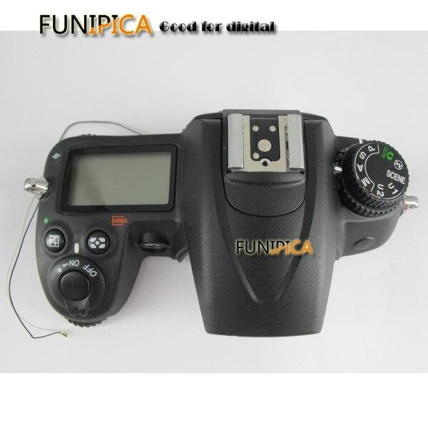 D7000 unité ouverte pour Nikon D7000 coque de couverture supérieure avec carte Flash haut LCD remplacement D7000 pièce de réparation de l'appareil photo livraison gratuite-in Caisson de caméra from Electronique    1
