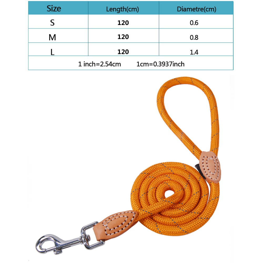 Pet Products Dog Leash Nylon Reflective Puppy Dog Leash Rope Cat Chihuahua Pet Leash And Collar Set Cat Dog Leashes Lead Harness (41)