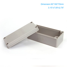 Free shipping waterproof  ABS plastic electrical box 80*180*70mm