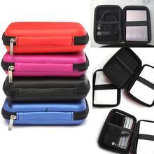 Hot 2 5 Cal zewnętrzny USB dysk twardy walizka pokrywa Box etui torba dla dysków SSD HDD Power bank etui tanie tanio W BLUELANS