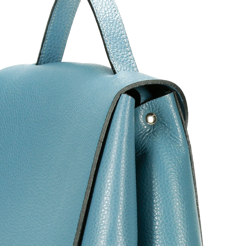 lulu milano  Genuine leather  leather lychee double backpack made in Italy 85144-s 3