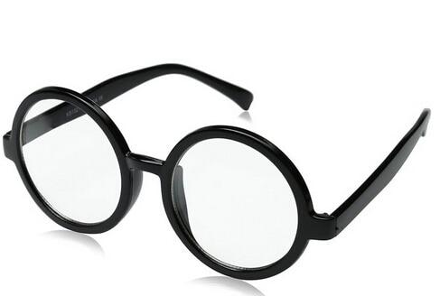 b2882bdd350 zeroUV - Vintage Inspired Eyewear Round Circle Clear Lens Glasses Eyeglasses