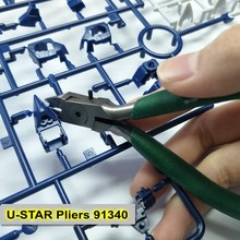 Ustar прецизионные режущие плоскогубцы кусачки для Gundam модель военный сборочный инструмент Модель аксессуары клещи 91340