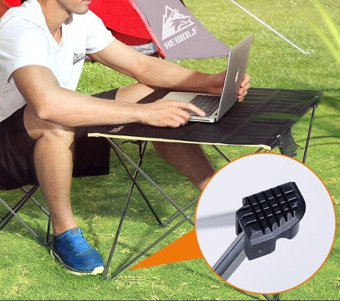 Table de pique-nique table d'extérieur ultra-légère table de Camping en aluminium loisirs de plein air table pliante livraison gratuite