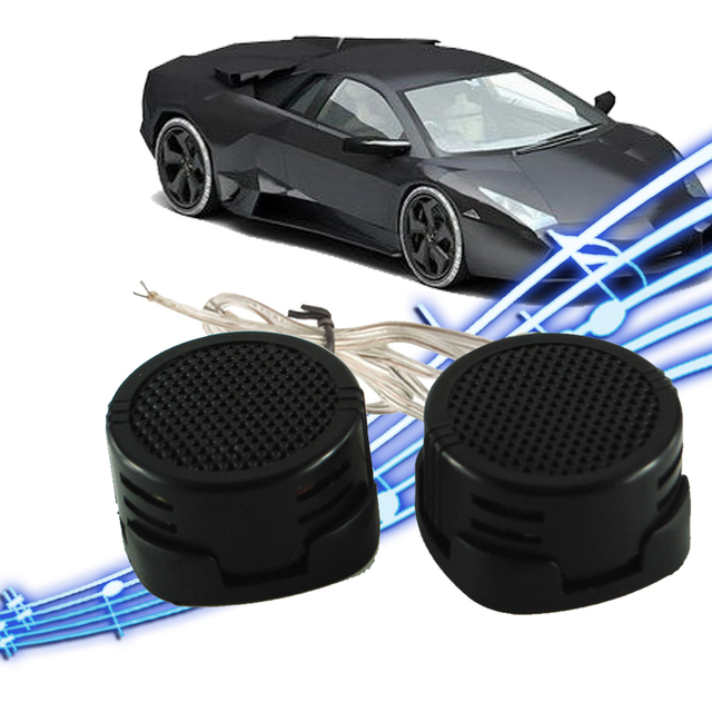 Universal High Efficiency 2x Car Mini Dome Tweeter Loudspeaker Loud Speaker Super Power Audio Auto Sound  car tweeters