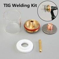 5PCS 1 0 2 0 1 6 2 4 3 2mm TIG Welding Torch Gas Lens