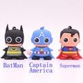 Lindo super hero batman superman capitán américa 32 gb 16 gb 8 gb 4 gb USB Flash Drive Pen Drive de Memoria U Disco Stick Pendrives regalo