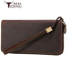 Clutch Male Wallet Men genuine leather Wallets