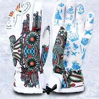 Boodun Women Men Ski Gloves Snowboard Gloves Snowmobile Motorcycle Riding Winter Gloves Windproof Waterproof Unisex Snow