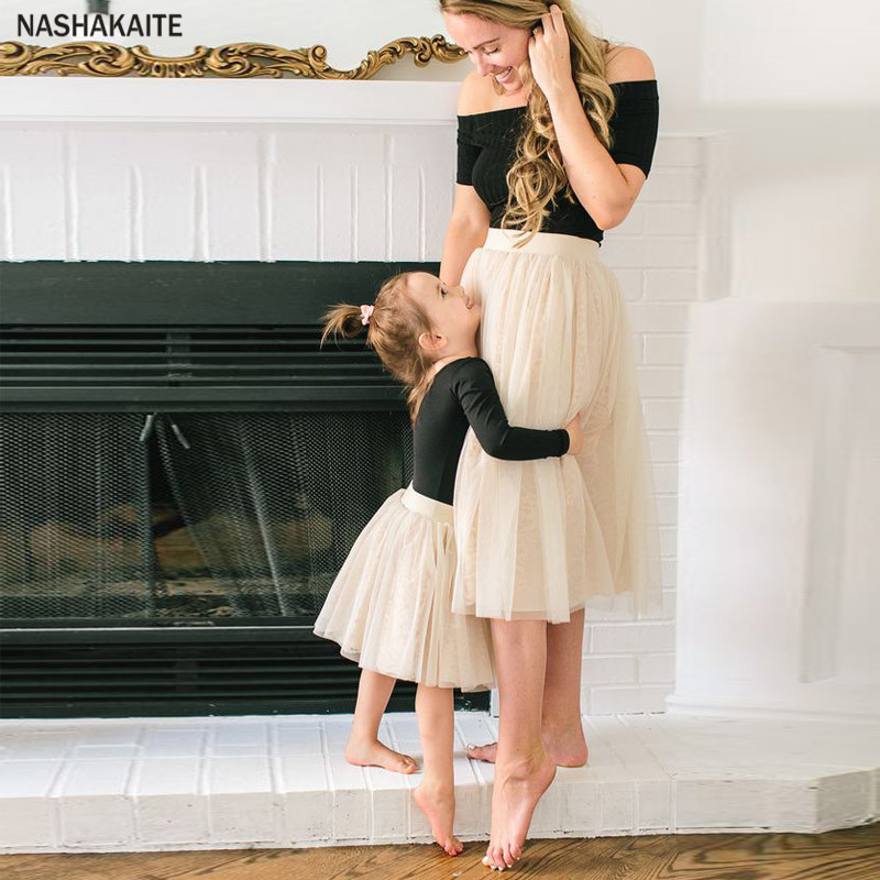Skirt, Mom, Dress, Matching, Clothes, Family