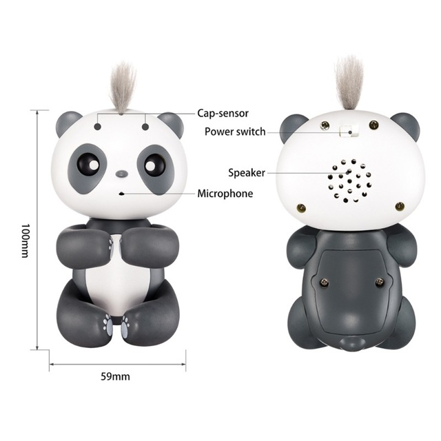 2018 Hot Cute Toys For Boys Kids Girls Spot Smart Finger Monkey Colorful Fingertip panda Christmas Gifts One Piece