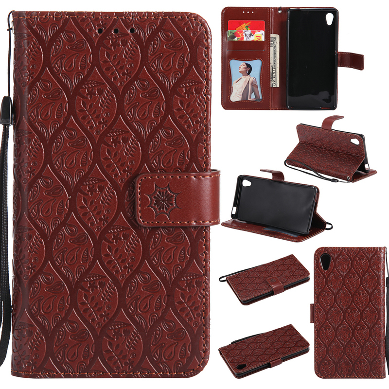 Luxury PU Leather Wallet Funda for Cover Sony Xperia M4 Aqua Case Coque Sony M4 Aqua Silicon Back cover for Sony Xperia M4 Case