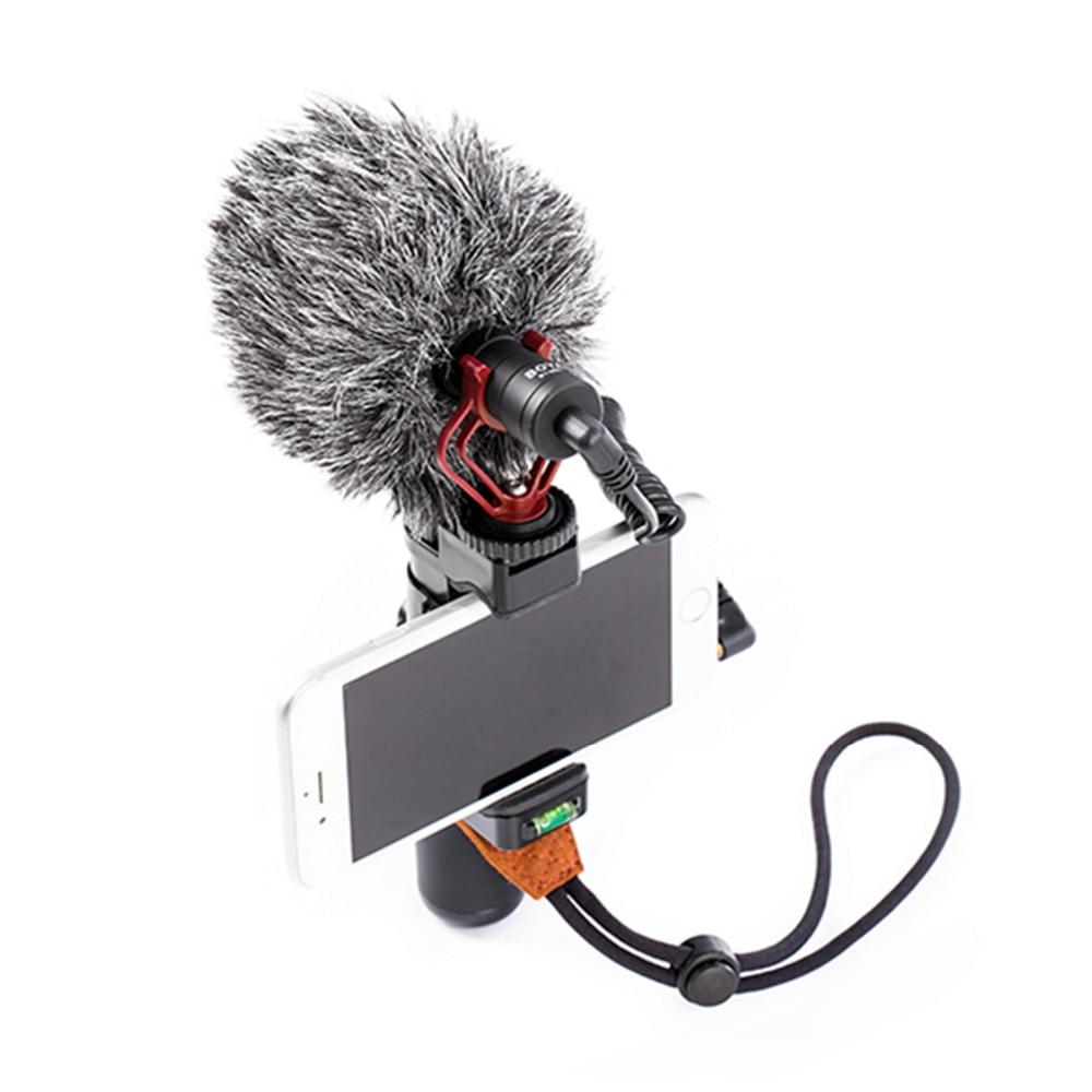 все цены на Universal Cardiod Shotgun microphone and Phone Handle Stabilizer Grip For Smartphone Video Film Maker ,Youtube Video Recording онлайн