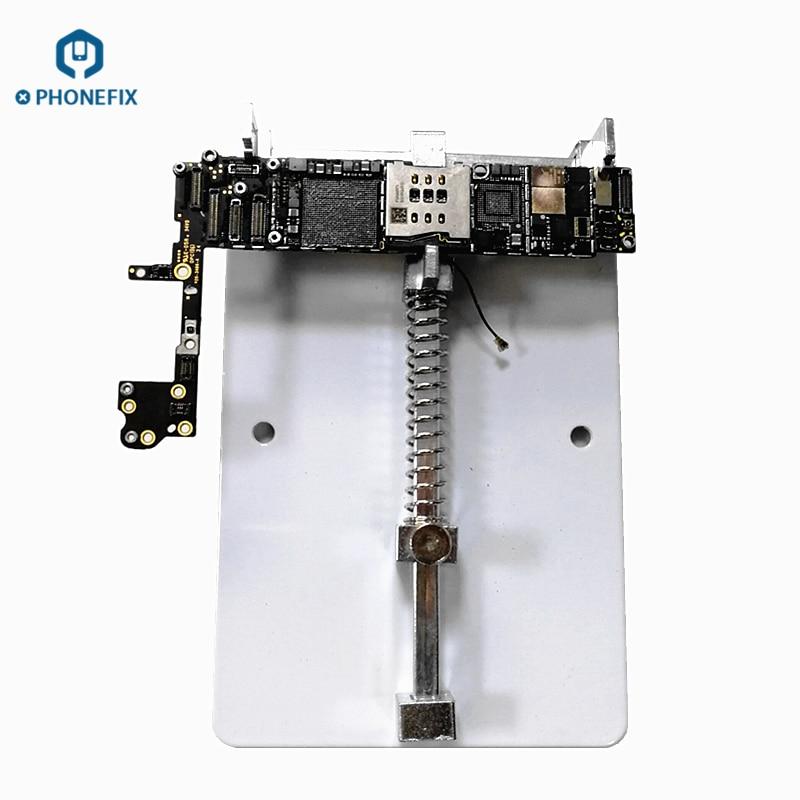 PHONEFIX Precision PCB Holder Soldering Repair Fixture for iPhone Repair Motherboard Soldering Rework Platform(China)