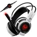 Новый Оригинальный Somic G941 Gaming Headset 7.1 Glow Светодиодные Usb наушники с Головной Стяжкой Pc Gamer Компьютер, Стерео Наушники С Микрофоном