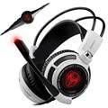 New Original G941 Sômica Gaming Headset 7.1 Fones de Ouvido Headband Do Brilho Led Usb Pc Gamer Estéreo Fones de Ouvido Do Computador Com Microfone