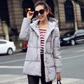 Winter Snow Wear Wadded Jacket Women Thick Warm Hooded Long Down Cotton-padded Jacket Parka Slim Coat female
