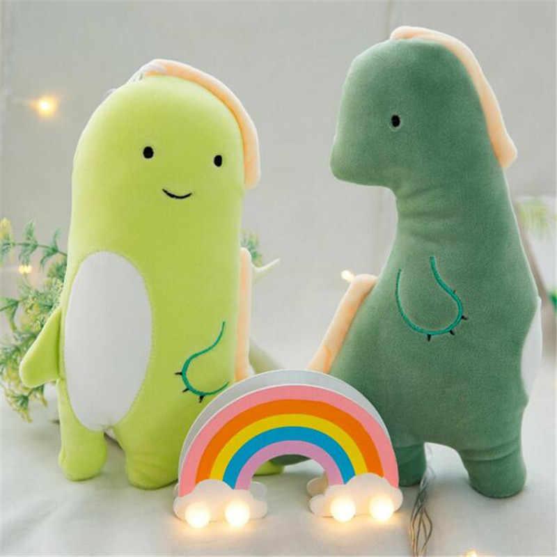 חם כיף קטיפה מיני דינוזאור צעצועים חמוד קריקטורה זוג רך ממולא צעצוע דינוזאורים בני בנות יום הולדת לילדים מתנות 20CM 1PCS חדש