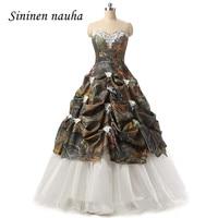 Camouflage Quinceanera Dresses Prom Party Dress Juniors Long Dance Ball Gown Appliques Vestidos De 15 Anos Sweet 16 Dresses 17