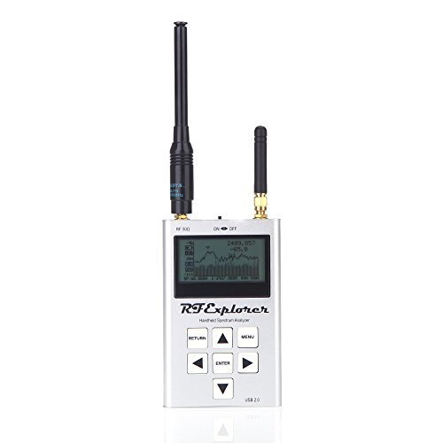 AYHF-RF Explorer ISM Combo Handheld Digital Spectrum Analyzer LCD Display 240-960 MHz 2.35-2.55 GHz 113*70*25mm High Capacity