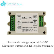 stepper motor mppt solar charge controller DKC-1A Can be used for servo motor pulse generator DC6-32V stepper motor pk543aw p50 used one 90