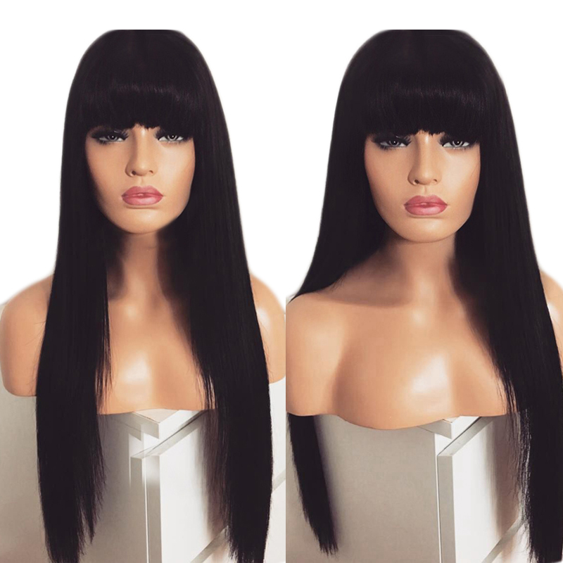 Charisma Black wig Long Straight Hair Lace Wigs Glueless Heat Resistant Synthetic Lace Front Wig with