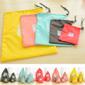 Hot 4pcs/lot Waterproof Storage Bags For Travel Shoe Laundry Lingerie Makeup Pouch For Cosmetic Underwear Organizer
