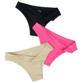 Briefs Women Sexy Seamless Panties Solid Color Ultra Thin Female Underwear High Quality 3PCS/Lot Trackable Shipping Logistics women's panties