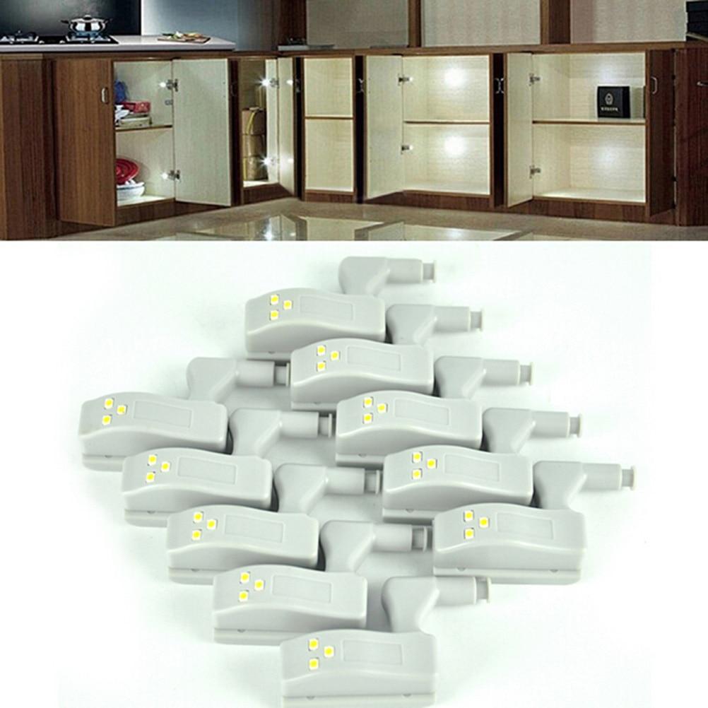 unids universal interior bisagra nigjt sensor de luz led para la cocina dormitorio sala de