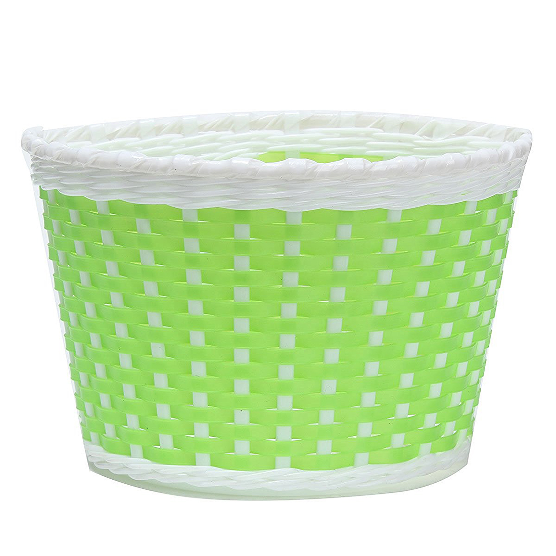 Children Bicycle basket Shopping basket Luggage carrier Handlebar basket Bike handle basket green