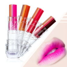 LEARNEVER Fashion Women Mix Three-Colors Gradient Lipstick Lip Gloss Lip Stick Cream Beauty Brand Makeup Cosmetics Wholesale