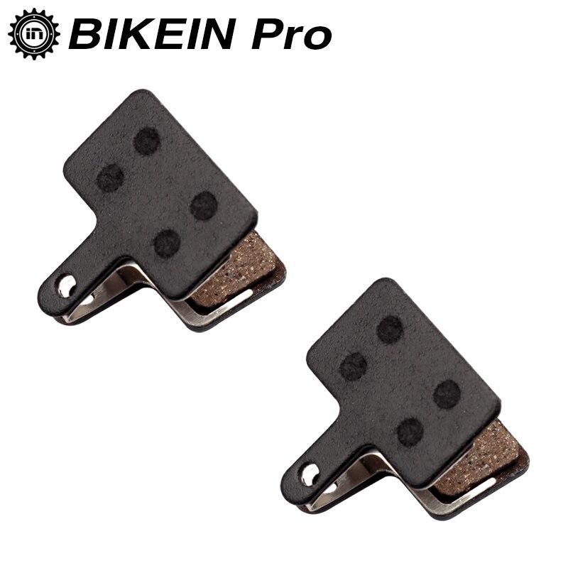 BIKEIN 2 Pairs Resin Bike Bicycle Disc Brake Pads For Shimano M525/M515/M486/M485/M446/M445/M416/M395/M375/M355 Tektro Orion Pro