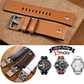 AUTO Genuine Calf Leather Watch Strap for Diesel Watch Strap Man Watchband 22/24/26/28/30mm Sport Watch Strap with Screw + Tools