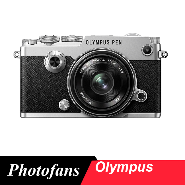 Olympus PEN-F Mirrorless M43 Digital Camera with 17mm/1.8 Lens Kit  (Silver) Brand New